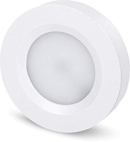 Superslim LED 2in1 Leuchte 230V - 3W 210lm - Montage Aufbau + Einbau - Trafo eingebaut - tagesweiß (4200 K)