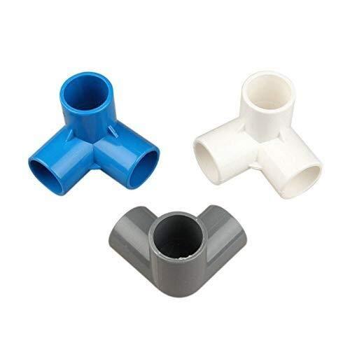 Sistema de riego de jardín 16 unids Plástico PVC 20mm