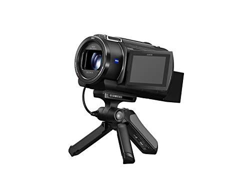 Sony GPV-PT1 Handgriff (für Selfies und Vlogging, auch als Tripod nutzbar, kompatibel mit ausgewählten Alpha Kameras, Cyber-Shot, Handycams und Action Cams von Sony) schwarz