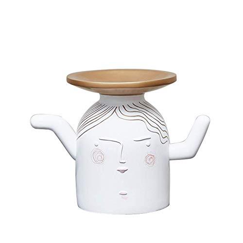 NHLBD Home decoratie/Feng Shui tafel Creatieve Sleutel Opslag Decoratie Woonkamer Deur Schoenkast Thuis Veranda Koffie Tafel TV Kabinet Decoratie Display 22 * 13 * 16cm