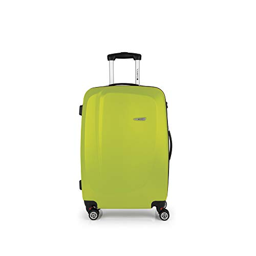 Gabol - Line | Maletas de Viaje Medianas Rigidas de 44 x 68 x 25 cm con Capacidad para 61 L de Color Pistacho