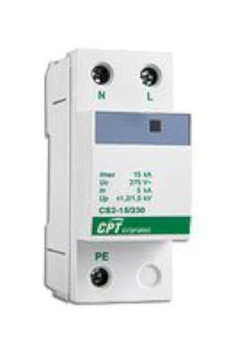 Cirprotec red eléctri.transit. - Protección bipolar tipo2 15ka 230v urbano monofasico