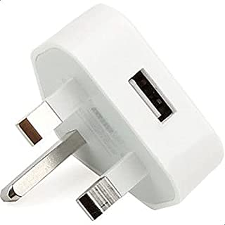 2016 UK UAE USB AC Wall Charger Power Adapter for iPhone 5 4S 4 3G iPod Touch 5 Nano White