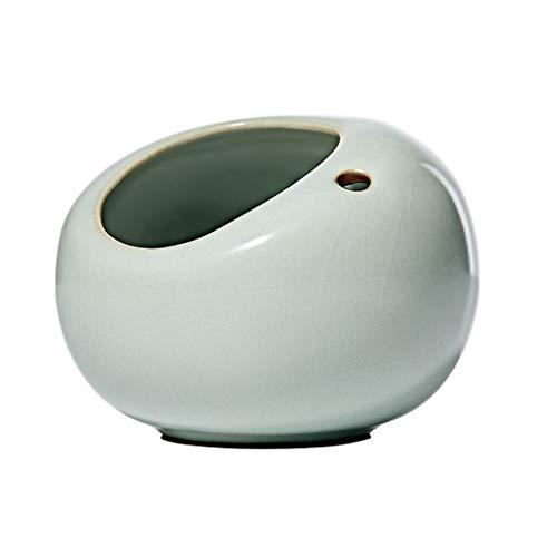 zxb-shop Cenicero Personalidad Creativa Cenicero de cerámica Muebles Sala de Estar Comedor Oficina Cenicero de Alto Grado Grande Cenicero sin Humo