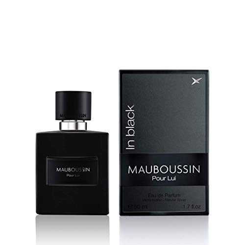 Mauboussin Mauboussin in black eau de parfum for men 50 ml