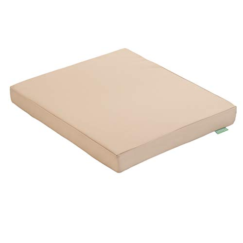 Gardenista Outdoor Seat Cushion Pads for Rattan Furniture | Garden Furniture Cushions | Water Resistant Patio Padding | Comfy & Lightweight | 75x75x7cm (Stone Seat Pad)