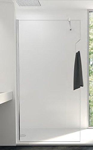 Mampara de ducha fija One cristal transparente Securit 8 mm ...