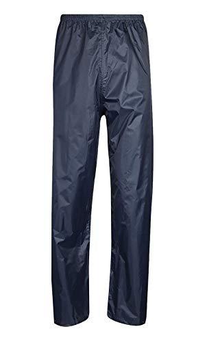 Islander Fashions Unisex Wasserdicht �ber Regen tragen Hosen Erwachsene Plain Fishing Workwear Hosen Navy klein