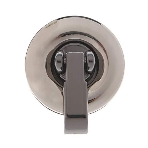 Furu Geldbörse Twist Turn Lock Rechteck Form Frauen Star Metall DIY Verschluss Turn-Twist Lock Metall für Schultertasche Handtasche Fashion S