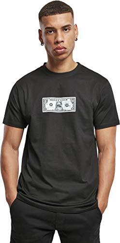 Mister Tee Herren Money Guy Tee T-Shirt, Black, L