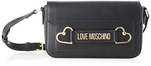 Love Moschino Jc4270pp0a, Borsa a Tracolla Donna, Nero (Black), 10x14.5x25 cm (W x H x L)