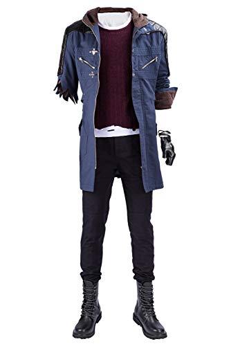 Tollstore DMC 5 Devil May Cry V-Nero nur Mantel Cosplay Kostüm Herren XS
