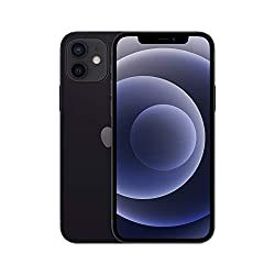 New Apple iPhone 12 (128GB) - Black 6.1-inch Super Retina XDR display Ceramic Shield, tougher than any smartphone glass A14 Bionic chip, the fastest chip ever in a smartphone Advanced dual-camera system with 12MP Ultra Wide and Wide cameras; Night mo...