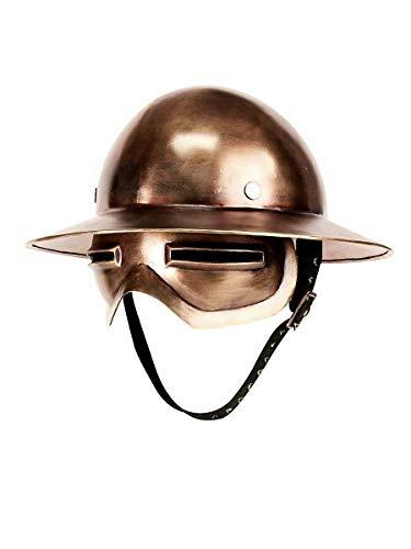 New Experimental Combat Helmet Replica Warrior Costume Item Copper