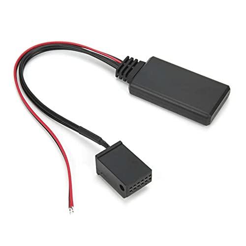 RJJX Bluetooth 5.0 Coche Radio Audio Música Aux-in Cable Adaptador Ajuste para Ford Focus/Mondeo/C-MAX/Galaxy