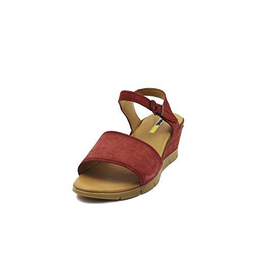 MANAS , Damen Sandalen Rot rot, Rot - rot - Größe: 40 EU