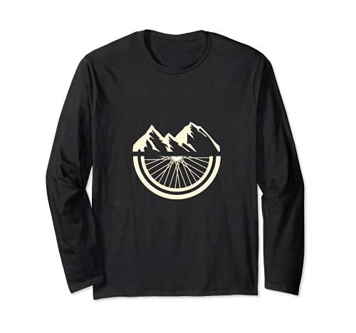 Mountain Bike I MTB I Cycling I Cyclist I Bicycle Biking Long Sleeve T-Shirt