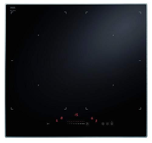 Amica KMI 13321 A, 4-er Induktionskochfeld Schott Ceran®, 60 cm, schmaler Aluminiumrahmen