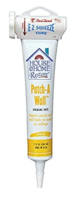 Red Devil 0658 House & Home Restore Spackling Compound EZ Squeeze Tube, 5 Fl. Oz, 1-Pack, White