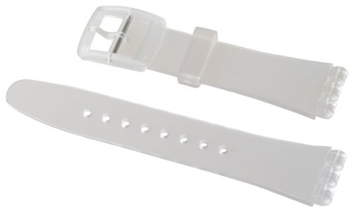 Swatch - Armband 19mm TRANSPARENT Plastic