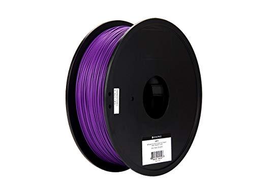 Monoprice MP Select PLA Plus + Premium 3D Filament - Lila, 1 kg/Spule, Dicke 1,75 mm, PLA Plus + ist stärker als gewöhnliches PLA