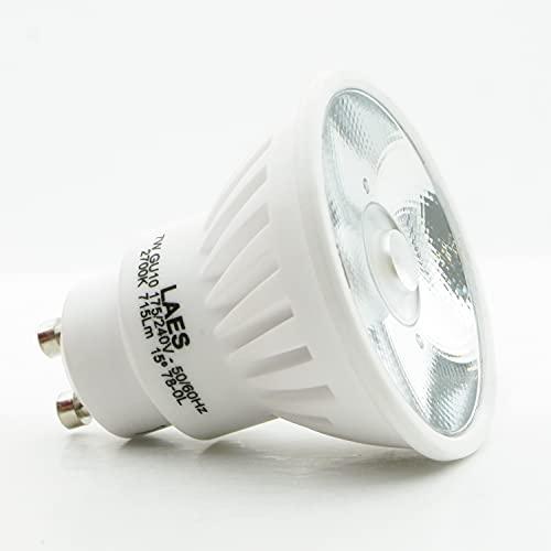 LAES 995602. Bombilla led regulable PAR16 220-240V 7W 15º 2700K GU10. 640...