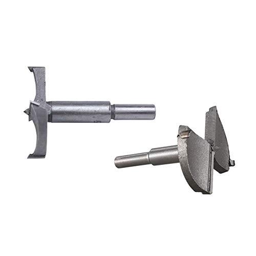 JYSLI Bündig Bit Holzbohrer Kunstbohrer Rohrbohrer 60 mm 55 mm erlaubt (Color : Silver)