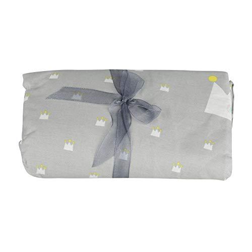 Antilog Baby Bed Hoeslaken, Grote & Kleine Kronen Patroon Katoen Baby Bed Hoeslaken Peuter Ledikant Matrasbeschermer
