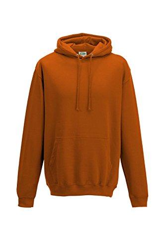 Just Hoods - Sweat-shirt à capuche - Homme - Orange - Orange brûlé - XL