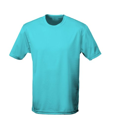 Just Cool - Performance T-Shirt, atmungsaktiv XL,Hawaii Blau