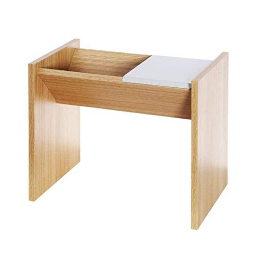 HYY-YY Mesa de centro simple se puede deformar de doble uso pequeño sofá mesa creativo mesita de noche gabinete de almacenamiento