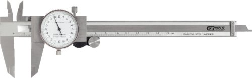KS Tools 300.0547 Pied à coulisse à cadran, précision de mesure +/-0.02