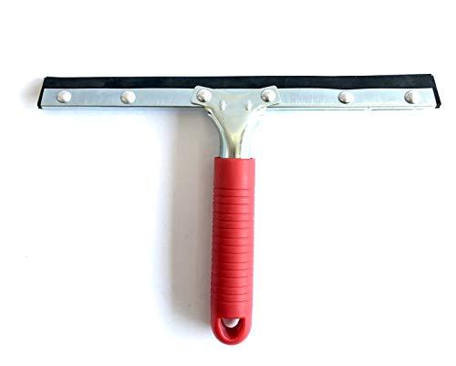 Melchioni 380005072 Brosse asciugavetro lavavetro avec Lame en Caoutchouc de 25 cm