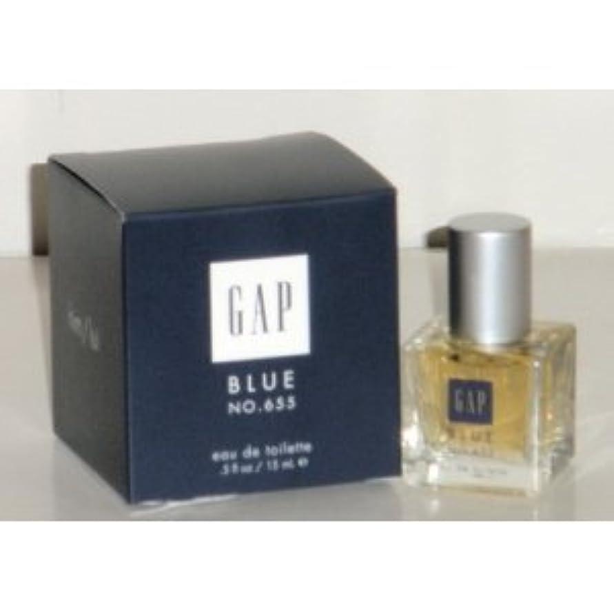 窓雨最も早いGap Blue No. 655 (ギャップブルーNo. 655 ) for Him 0.5 oz (15ml) EDT Spray by Gap for Men