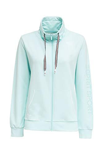 ESPRIT Sports Damen Sweat Cardigan Strickjacke, 470, L