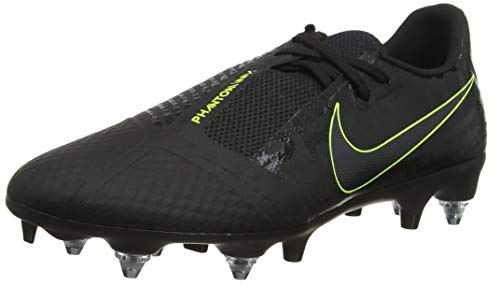 Nike Unisex Phantom Venom Academy SGPRO AC Fußballschuhe, Schwarz (Black/Black/Volt/Volt 007), 41 EU