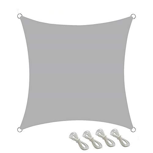 YYGG Toldo Vela de Sombra Rectangular, Toldos Impermeables Exterior, Vela Solar, 98% Protección UV Vela Solar en Poliéster Resistente a Desgarro y Intemperie, para Patio de Jardín Terraza Camping