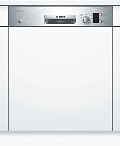 BOSCH Built In Dishwasher, 60cm (Silver, SMI25AS00E)