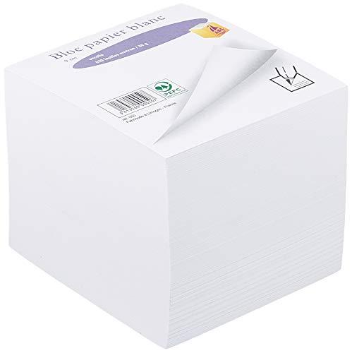 Quo Vadis 236004Q - Taco de notas encolado, color blanco
