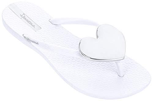 Ipanema Damen Zehentrenner Maxi Fashion 82120 (39 EU, White (20098))
