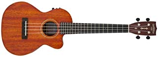 Gretsch G9121 Tenor Acoustic Electric Ukulele with Cutaway - Honey Mahogany Stain