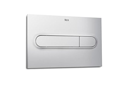 Roca In-Wall A890095002 - Placa accionamiento PL1 Dual, cromo mate