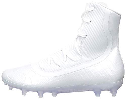 Under Armour Men's Highlight MC Football Shoe, White (101)/White, 11