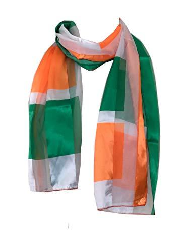 Pamper Yourself Now Irland Flagge Schal dünne hübsche Schal Great für jedes Outfit. Schönes Geschenk (Ireland Flag Scarf Thin Pretty Scarf