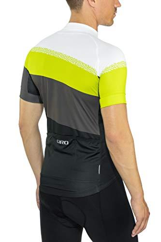 Giro Chrono Sport Trikot Herren Citron Green Terrace Größe S 2019 Radtrikot kurzärmlig