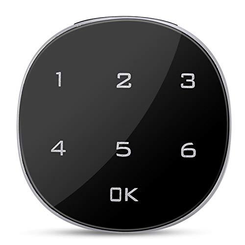 FOLOSAFENAR Cerradura Segura de aleación de Zinc Cerradura electrónica Digital Fuerte y Duradera Cerradura codificada para gabinete Cerradura Segura, para cajones, buzón