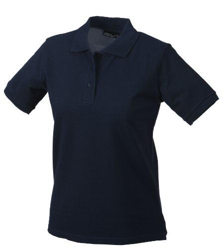 JAMES & NICHOLSON Polo de Maternité, Bleu (Navy), (Taille Fabricant: XX-Large) Femme