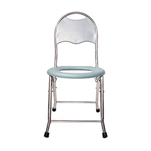 JIEER-C Ergonomische stoel oudere toiletstoel zwangerschapstoilet gehandicapte klapstoel draagbare toilet toiletstoel douchestoel