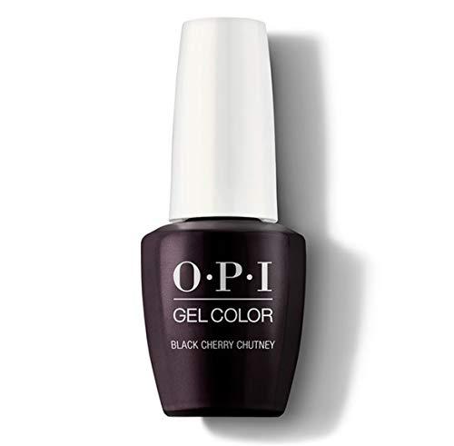 O.P.I Gelcolor Vernis à ongles rouge cerise (Black Cherry Chutney) 15 ml