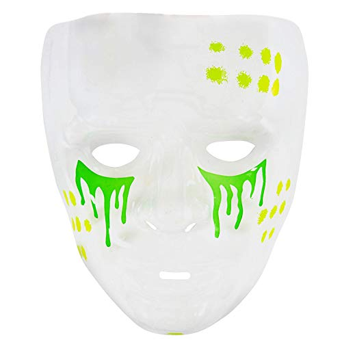 Widmann Máscara transparant Tóxica
